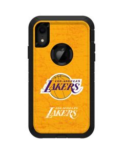 Los Angeles Lakers Gold Primary Logo Otterbox Defender iPhone Skin