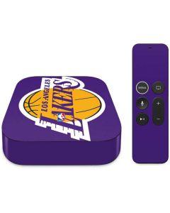 Los Angeles Lakers Large Logo Apple TV Skin