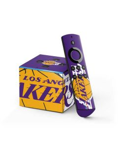 Los Angeles Lakers Large Logo Fire TV Cube Skin