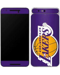 Los Angeles Lakers Large Logo Google Nexus 6P Skin