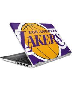 Los Angeles Lakers Large Logo HP Pavilion Skin