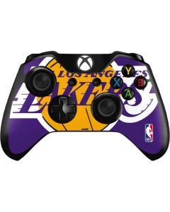 Los Angeles Lakers Large Logo Xbox One Controller Skin