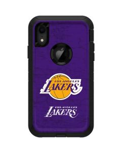 Los Angeles Lakers Purple Primary Logo Otterbox Defender iPhone Skin