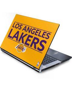 Los Angeles Lakers Standard - Gold Generic Laptop Skin