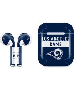 Los Angeles Rams Blue Performance Series Apple AirPods 2 Skin