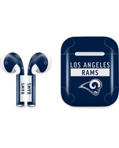 Los Angeles Rams Blue Performance Series Apple AirPods Skin