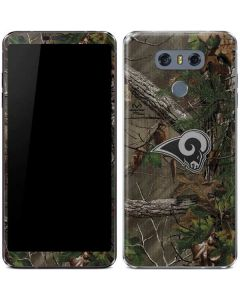 Los Angeles Rams Realtree Xtra Green Camo LG G6 Skin