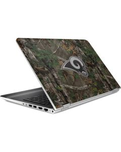Los Angeles Rams Realtree Xtra Green Camo HP Pavilion Skin
