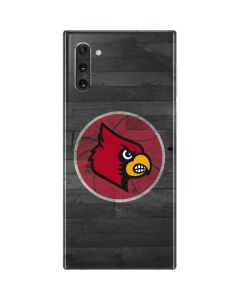 Louisville Cardinals Basketball Galaxy Note 10 Skin
