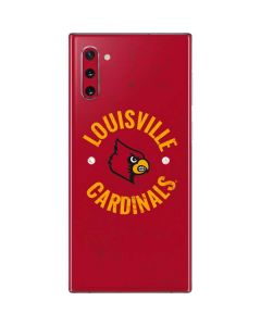 Louisville Cardinals Faded Galaxy Note 10 Skin