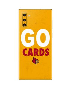 Louisville Go Cards Galaxy Note 10 Skin