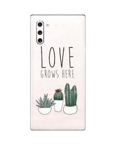 Love Grows Here Galaxy Note 10 Skin