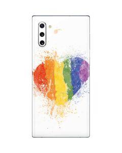 Love Is Love Heart Galaxy Note 10 Skin
