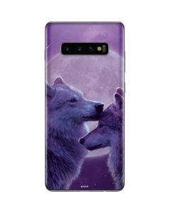 Loving Wolves Galaxy S10 Plus Skin