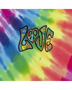 Tie Dye Peace & Love LifeProof Nuud iPhone Skin