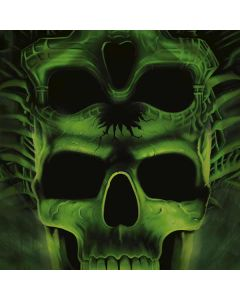 Green Skulls One X Skin