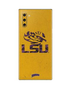 LSU Tiger Eye Gold Galaxy Note 10 Skin
