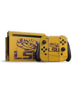 LSU Tiger Eye Gold Nintendo Switch Bundle Skin