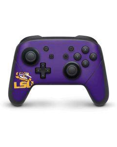 LSU Tiger Eye Purple Nintendo Switch Pro Controller Skin