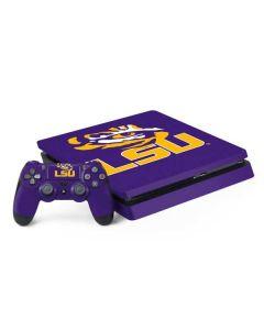 LSU Tiger Eye Purple PS4 Slim Bundle Skin