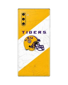 LSU Tigers Helmet Galaxy Note 10 Skin
