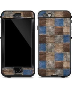Lumber Grid LifeProof Nuud iPhone Skin