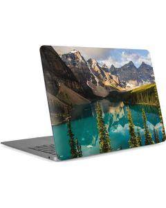 Majestic Mountains and Evergreen Forests Apple MacBook Air Skin