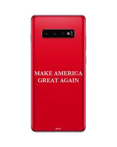 Make American Great Again Galaxy S10 Plus Skin