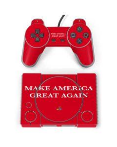 Make American Great Again PlayStation Classic Bundle Skin