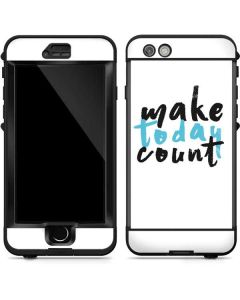 Make Today Count LifeProof Nuud iPhone Skin