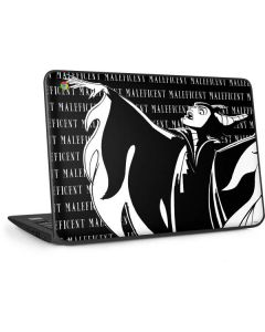 Maleficent Black and White HP Chromebook Skin
