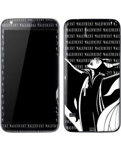 Maleficent Black and White Galaxy S5 Skin
