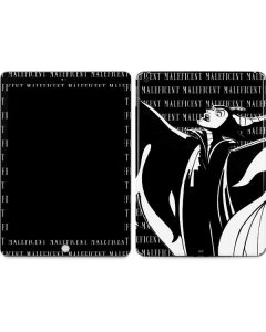 Maleficent Black and White Apple iPad Skin