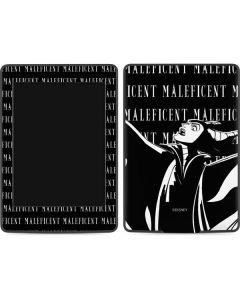 Maleficent Black and White Amazon Kindle Skin