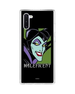 Maleficent Galaxy Note 10 Clear Case