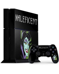 Maleficent PS4 Console and Controller Bundle Skin