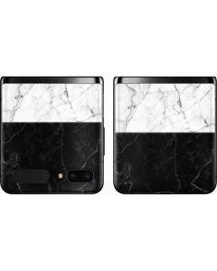 Marble Split Galaxy Z Flip Skin