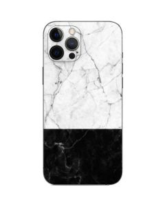Marble Split iPhone 12 Pro Max Skin
