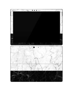 Marble Split Surface Pro 7 Skin