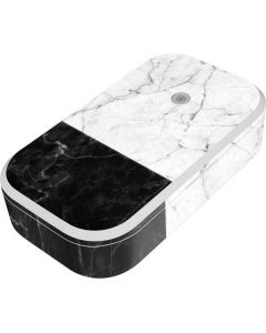 Marble Split UV Phone Sanitizer and Wireless Charger Skin