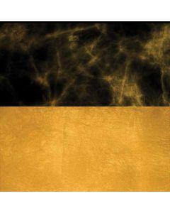 Black and Gold Split Marble Moto X4 Skin