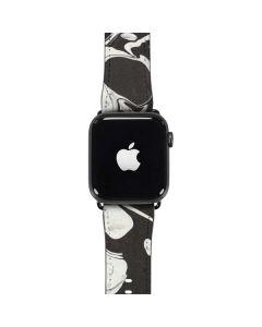 Marbleized Black Apple Watch Case