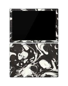 Marbleized Black Surface Pro 7 Skin