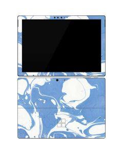 Marbleized Blue Surface Pro 7 Skin
