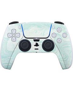 Marbleized Mint PS5 Controller Skin