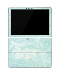 Marbleized Mint Surface Pro 7 Skin
