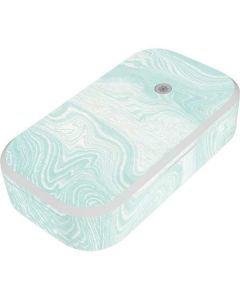 Marbleized Mint UV Phone Sanitizer and Wireless Charger Skin