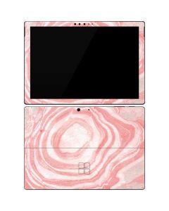 Marbleized Pink Surface Pro 7 Skin