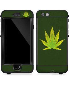 Marijuana Leaf Light Green LifeProof Nuud iPhone Skin