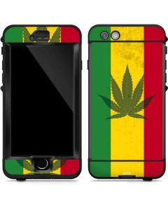 Marijuana Rasta Flag LifeProof Nuud iPhone Skin